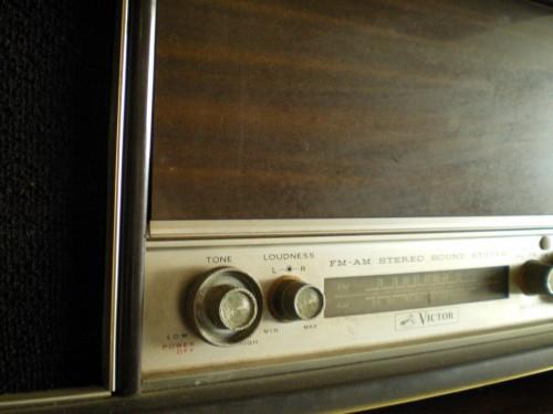 ビクター真空管ラジオステレオプレーヤー