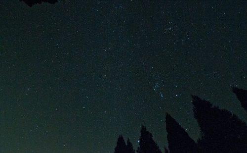 秩父の満天の星空の写真